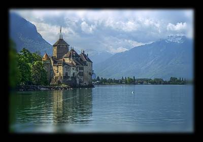 Chateau De Chillon Art Print by Matthew Green