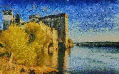 Chateau De Tarascon Art Print