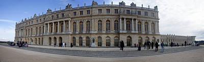 Chateau De Versailles Art Print by Cecil Fuselier