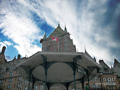 Photograph - Chateau Frontenac by Mary Mikawoz