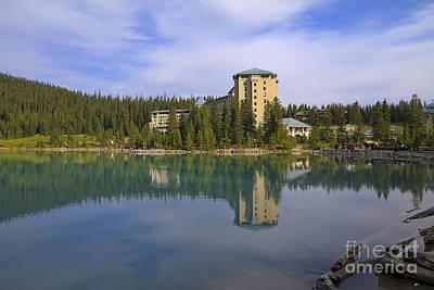 Fairmont Photograph - Chateau Lake Louise by Teresa Zieba