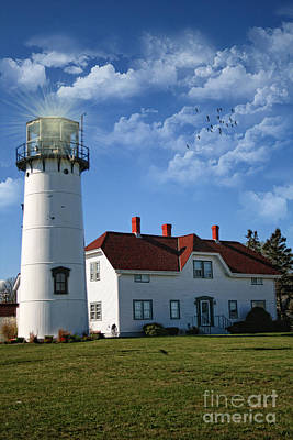 Photograph - Chatham Lighthouse II by Gina Cormier