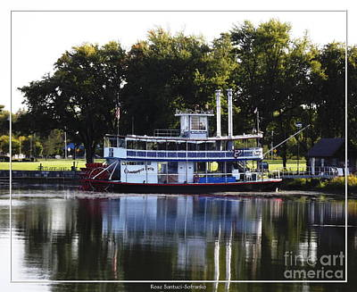 Photograph - Chautauqua Belle On Lake Chautauqua by Rose Santuci-Sofranko