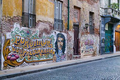 Photograph - Che by John Galbo