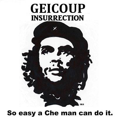 Che Digital Art - Che Man by Robert Wolverton Jr