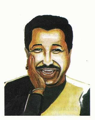 Cheb Khaled Art Print