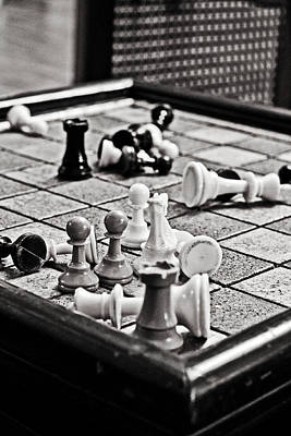 Check Mate Art Print by Randall  Cogle