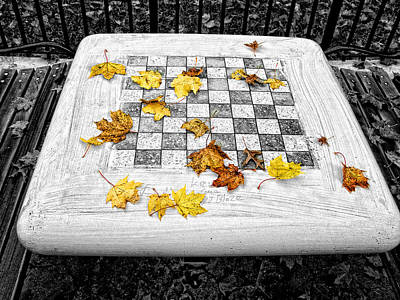Photograph - Checker Board by Bennie Reynolds