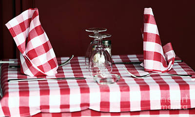 Photograph - Checkered by John Rizzuto