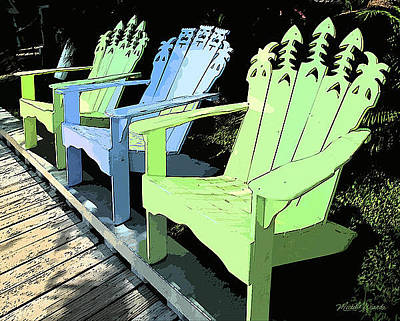 Photograph - Cheerful Adirondacks by Michelle Wiarda
