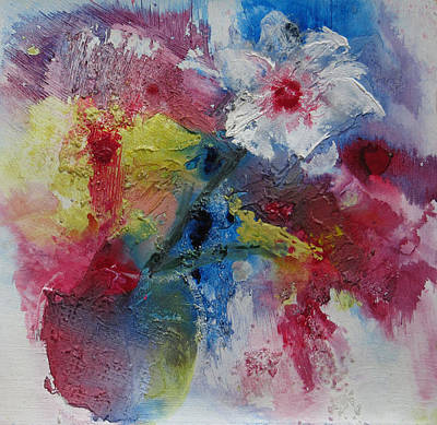Abstract Painting - Cheerful by Marilyn Woods