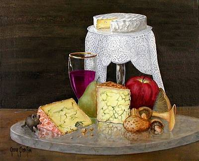 Painting - Cheese Delight by Gary Partin