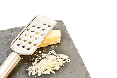 Cheese Grater Art Print by Tom Gowanlock