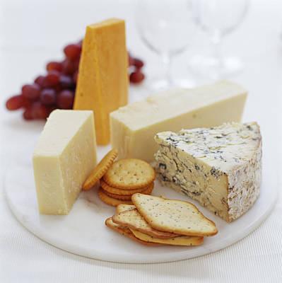 Cheese Selection Art Print by David Munns