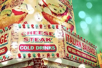 Cheese Steak Carnival Food Vendor Art Print