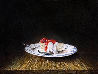 Painting - Cheesecake by Brandon Kralik