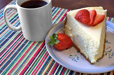 Photograph - Cheesecake by Lynnette Johns