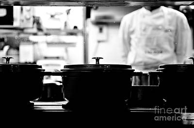 Photograph - Chef by Dean Harte