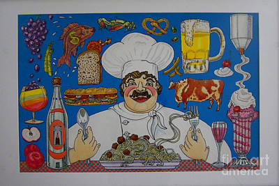Chef Art Print