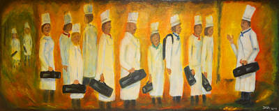 Painting - Chef School by Diana Haronis