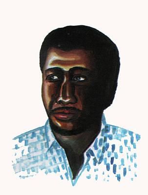 Cheick Oumar Sissoko Art Print by Emmanuel Baliyanga