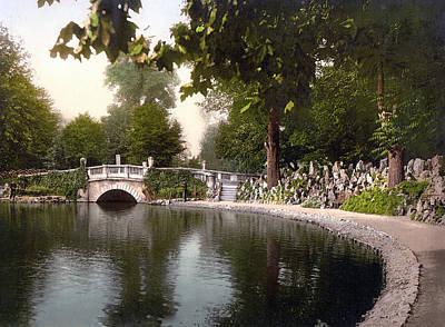Cheltenham Photograph - Cheltenham - England - Pittville Gardens by International  Images