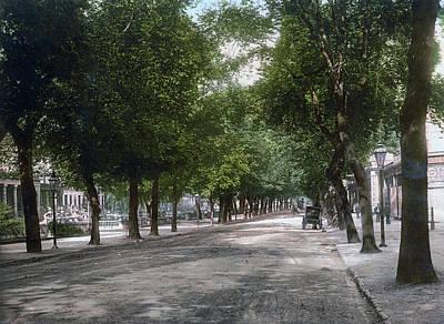 Cheltenham Photograph - Cheltenham - England - Promenade Looking Towards Hight Street by International  Images