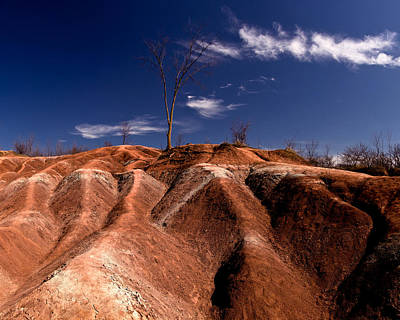 Abstract Oil Paintings Color Pattern And Texture - Cheltenham Badlands by Cale Best