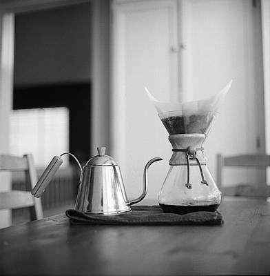 Photograph - Chemex And Kettle by Copyright Ricky G. Brown 2011