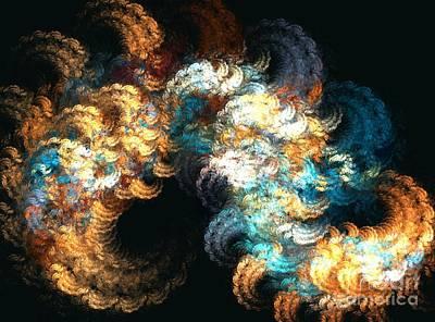 Kim Digital Art - Chenille by Kim Sy Ok