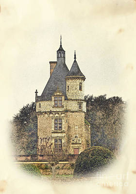 Photograph - Chennonceau Castle by Paul Topp