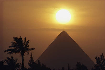 Cheops Pyramid, The Art Print by George F. Mobley
