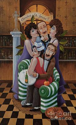 Painting - Cherchez La Femme by Igor Postash