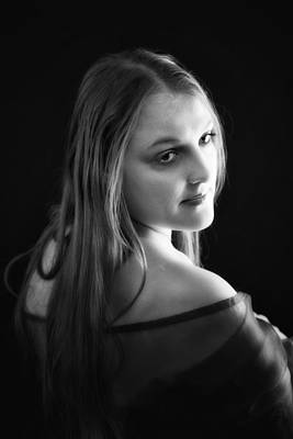 Rustenburg Photograph - Cheree In Black And White by Ronel Broderick