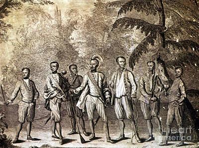 Cherokee Delegation, 1730 Art Print by Granger