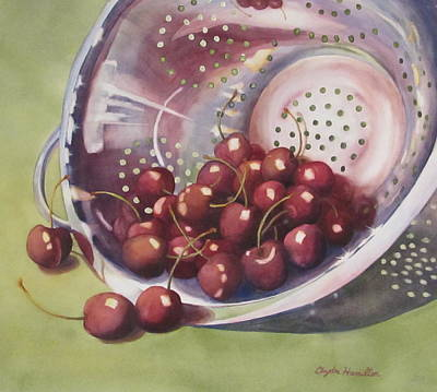 Painting - Cherries by Daydre Hamilton