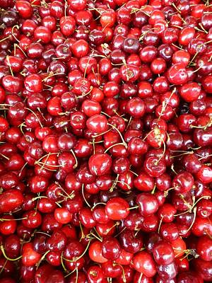 Photograph - Cherries by Ed Lukas