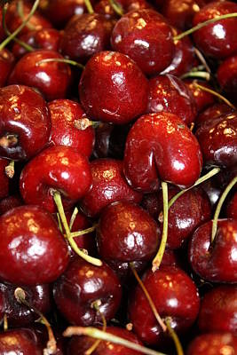 Amature Photograph - Cherries Jubilee by Bruce Bley