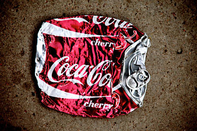 Cherry Coke Photograph - Cherry Crush by Jez C Self