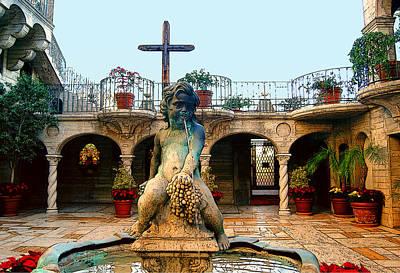 Photograph - Cherub Fountain by Sandra Selle Rodriguez