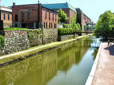 Chesapeake And Ohio Canal I Art Print by Steven Ainsworth