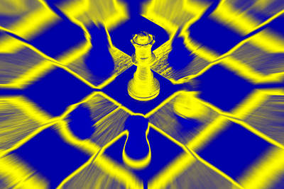 Art Print featuring the photograph Chess by David Harding