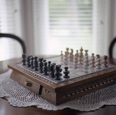 Oregon Illinois Photograph - Chess by Images Copyright Micah McCoy