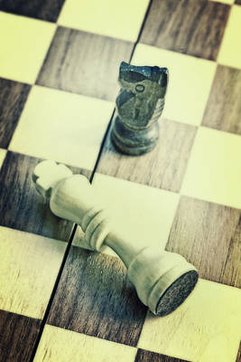 Chess Art Print by Joana Kruse