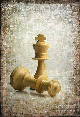 Gamepieces Photograph - Chess Pieces by Bernard Jaubert