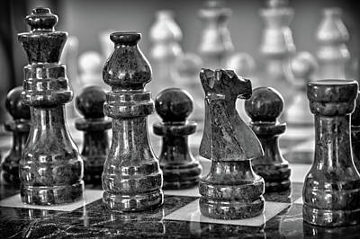Photograph - Chess Royalty by James Woody