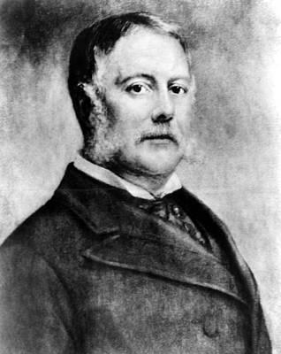 1880s Portaits Photograph - Chester Arthur, 21st President by Everett