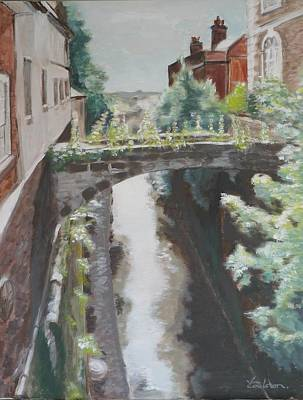 Chester Canal Art Print by Veronica Coulston