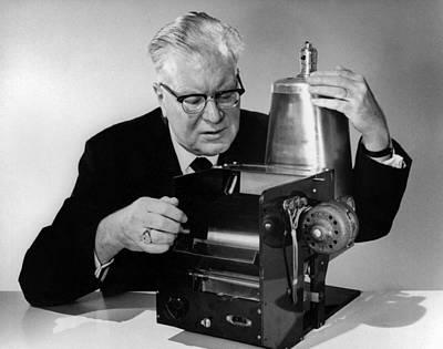 Xerox Photograph - Chester Carlson 1906-1968 by Everett