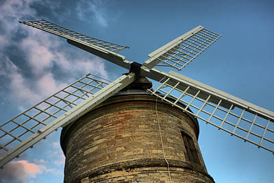 Chesterton Windmill Print by Christopher Gandy